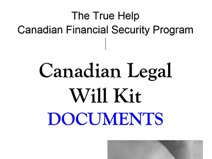 True Help Free Legal Forms - Legal will documents for free